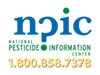 NPIC logo with phone number